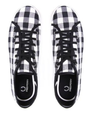 Fred Perry Phoenix Gingham LaceUp Shoe at ASOS 40 buy here fred perry