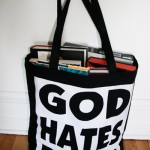 The God Hates Bags tote