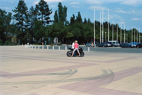Olympia Stadion, Berlin, by Anja Schaffner