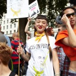 Cake snaps at UK Supports LGBT Russia Protest, August 10th