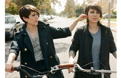 They're on bikes. Sorry just found it we were like okay
