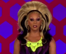 Rupaul - what gay guys say to lesbians